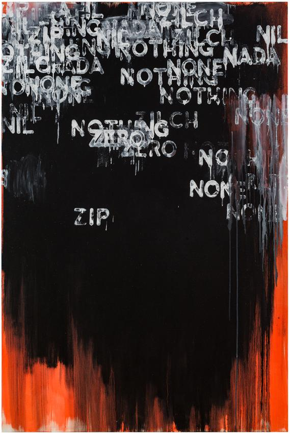 <i>Zip</i><br />2015<br />oil and acrylic on canvas<br />75 x 50 inches<br />(190.5 x 127 cm)<br />PF4192<br />