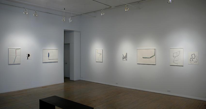 Silvia Bächli: Fjall <br />Installation<br />