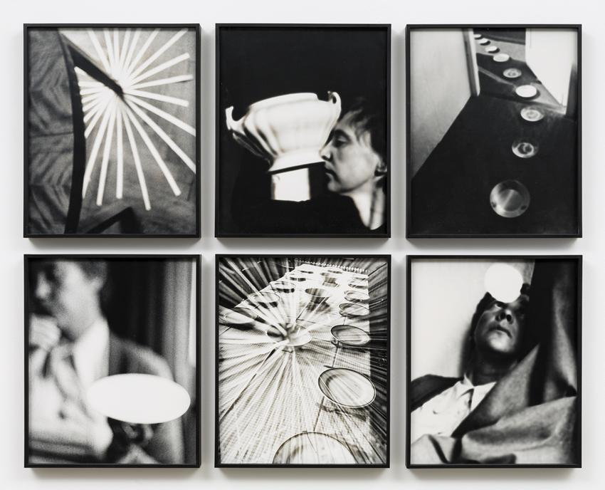 <u>Selbstbewußtsein als Suppe [Self-consciousness as a Soup]</u><br />2011<br />6 gelatin silver prints<br />each: 13 3/4 x 11 1/4 inches<br />  (34.9 x 28.6 cm)<br />PF4146<br />