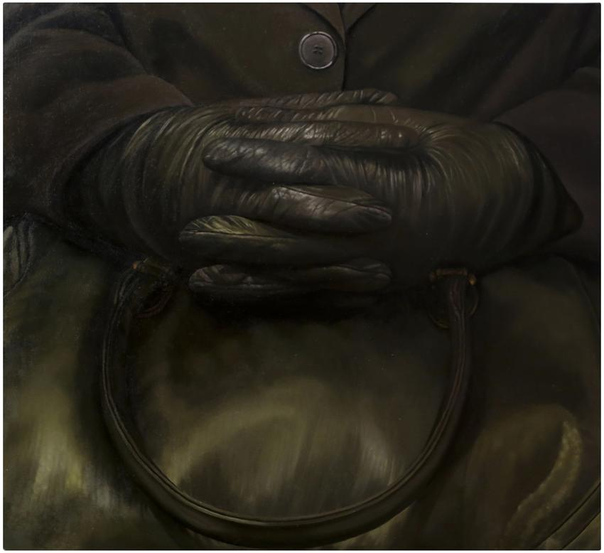 <u>Clasped</u><br />2013<br />oil on canvas<br />46 x 50 inches (116.8 x 127 cm)<br />