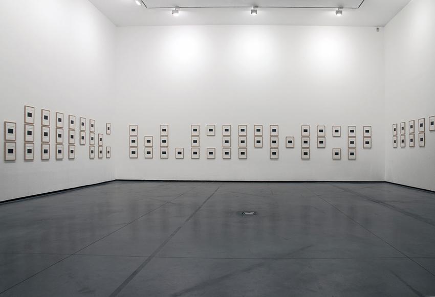 <u>Melanophila II ou l'Ennemi déclaré</u>, 2003-2008<br /><u>Extraits et Extractions</u><br />3 October 2014 - 4 January 2015<br />les Abattoirs, Toulouse, © Cedrick Eymenier<br />