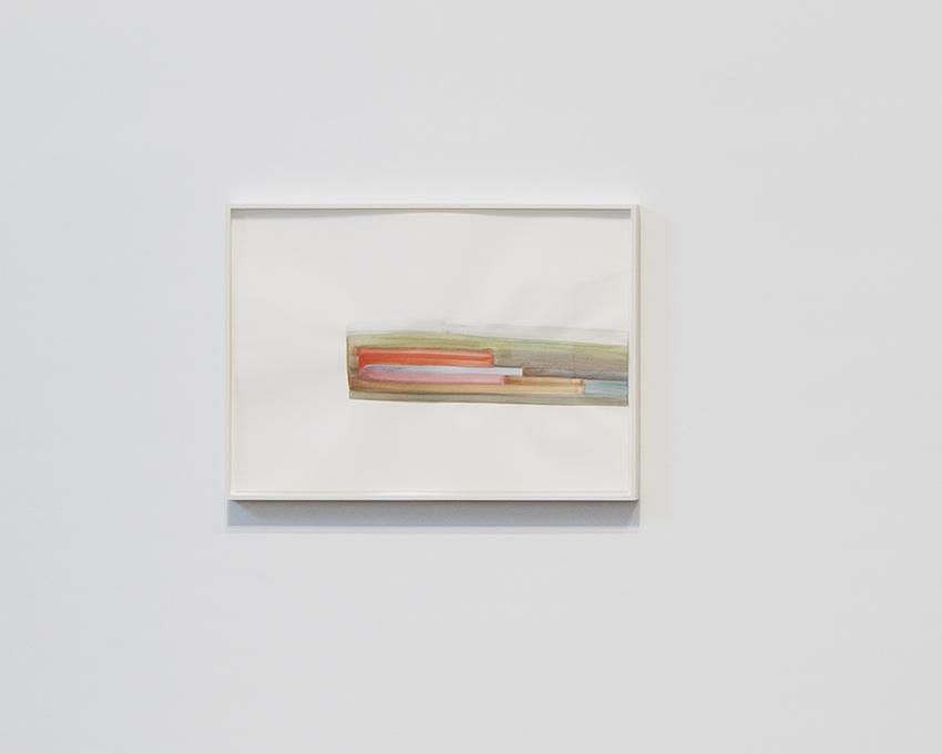 Silvia Bächli<br />Untitled<br />2015<br />gouache on paper<br />44 x 62 cm<br />PF3740<br />