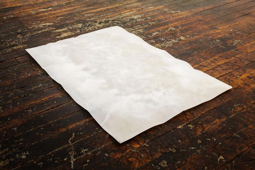 Massimo Bartolini<br /><u>Untitled</u>, 2015<br />alabaster<br />39 3/8 x 27 9/16 x 1 3/16 inches<br />  (100 x 70 x 3 cm)<br />
