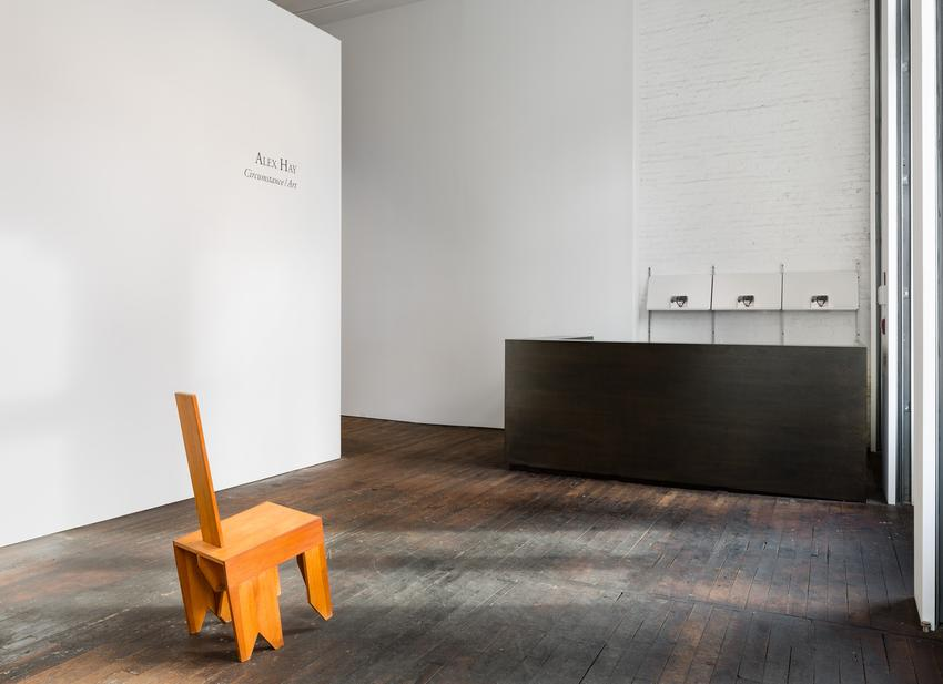 Untitled (Chair)<br />c. 1970<br />Douglas Fir<br />41 1/2 x 15 1/16 x 25 3/4 inches<br />(105.4 x 38.3 x 65.4 cm)<br />PF3924<br />