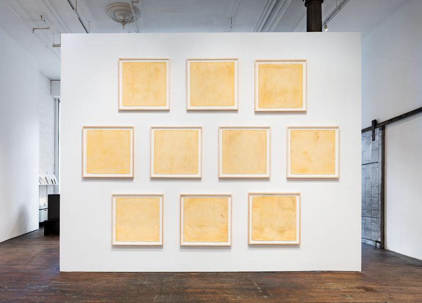 Sun Prints<br />Installation view<br />Peter Freeman, Inc.<br />January 2016<br />