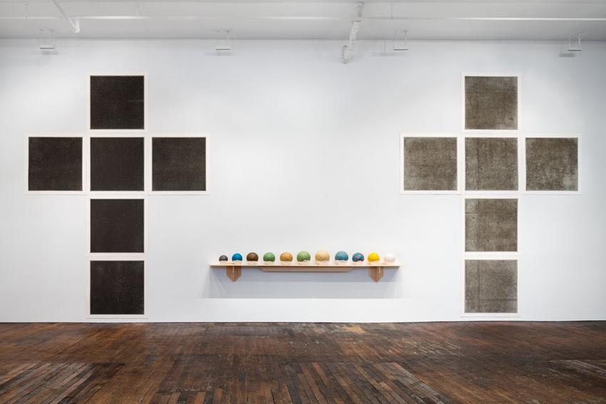 Installation view<br />Peter Freeman, Inc.<br />January 2016<br />