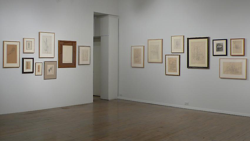 "Instalation: Alberto Giacometti, ""Drawings""<br />1 May - 27 June 2009<br />"