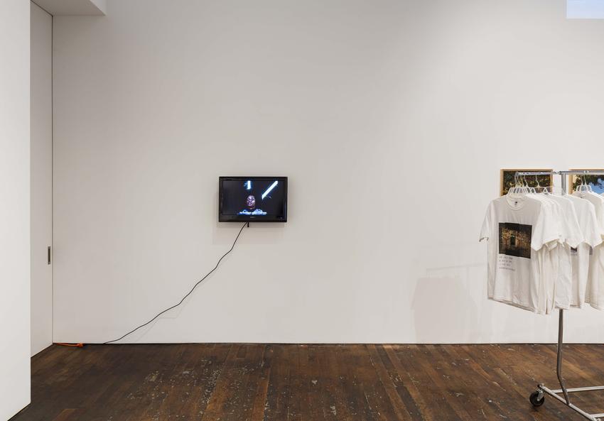 Camilo Restrepo<br /><i>Cilaos</i><br />2016<br />16 mm video on monitor<br />duration 13 mins<br />