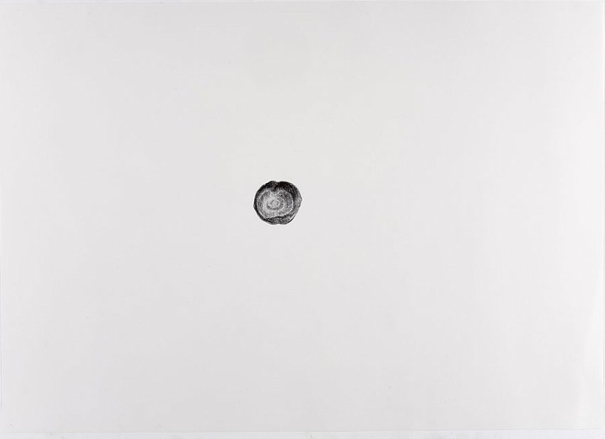 Silvia Bächli<br />Untitled<br />2007<br />crayon on paper<br />16 1/2 x 24 3/8 inches<br />  (44 x 62 cm)<br />PF1343<br />