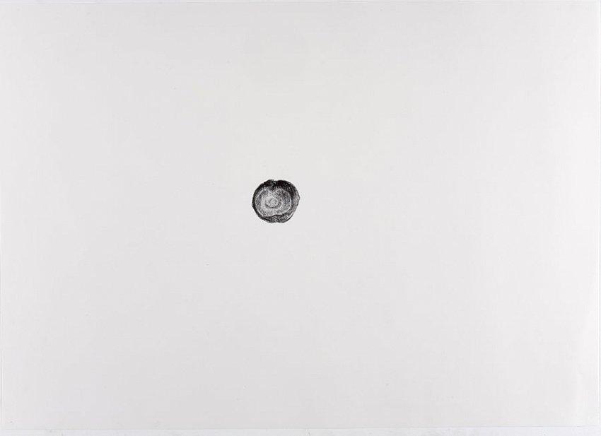 Silvia Bächli<br />Untitled<br />2007<br />crayon on paper<br />16 1/2 x 24 3/8 inches<br />  (44 x 62 cm)<br />PF1343<br />
