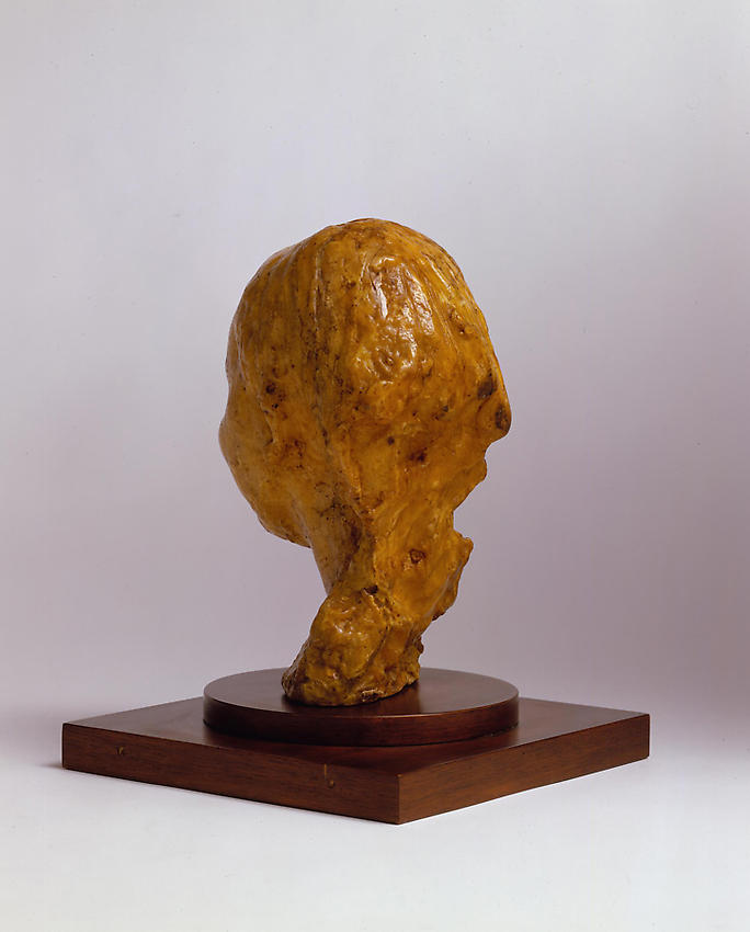 Medardo Rosso<br />Bambina che ride<br />1889-90<br />wax over plaster<br />10 x 7 x 7 1/2 inches<br />(25.4 x 17.8 x 19 cm)<br />