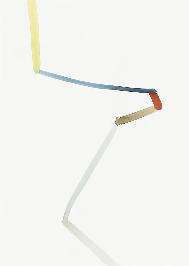 Silvia Bächli<br />Untitled<br />2010<br />gouache on paper<br />24 3/8 x 17 3/8 inches (62 x 44 cm) <br />PF1979<br />