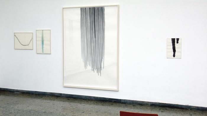 Silvia Bächli<br />Instalation, das (to Inger Christensen)<br />La Biennale di Venezia 09<br />Swiss Pavilion, Giardini<br />