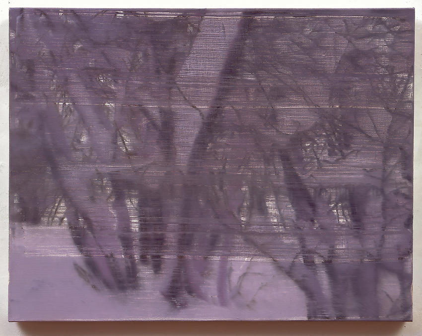 GERHARD RICHTER<br /><i>Zweige</i> [Branches]	(870-2)<br />2000<br />oil on canvas<br />20 ½ x 26 3/8 inches  (52 x 67 cm)<br />
