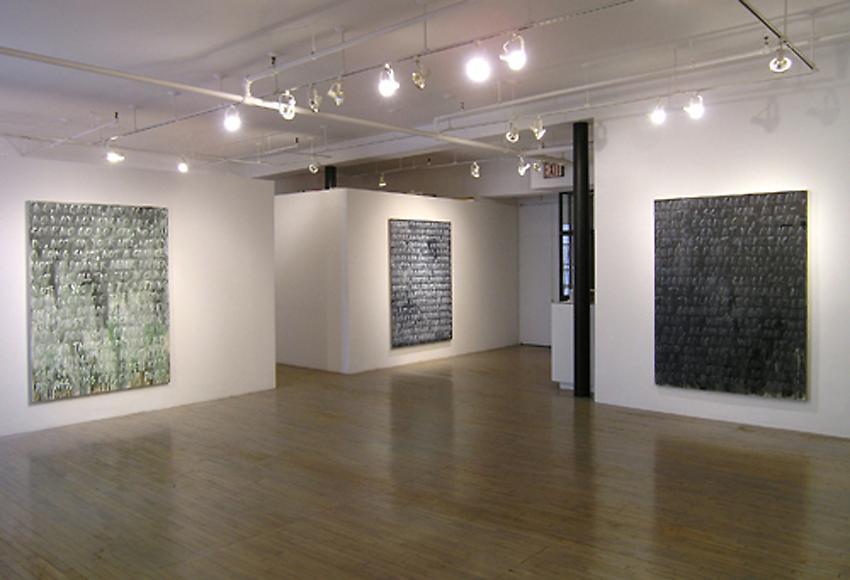 Mel Bochner<br />Installation<br />