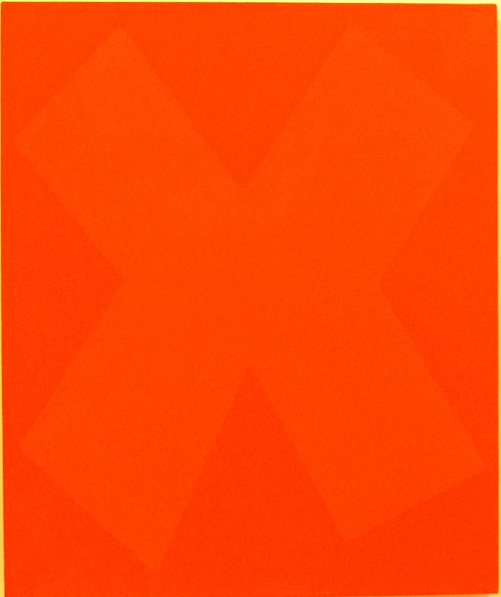Ellsworth Kelly<br />Sumac Study<br />1959<br />oil on canvas<br />24 x 20 inches  (61 x 50.8 cm)<br />