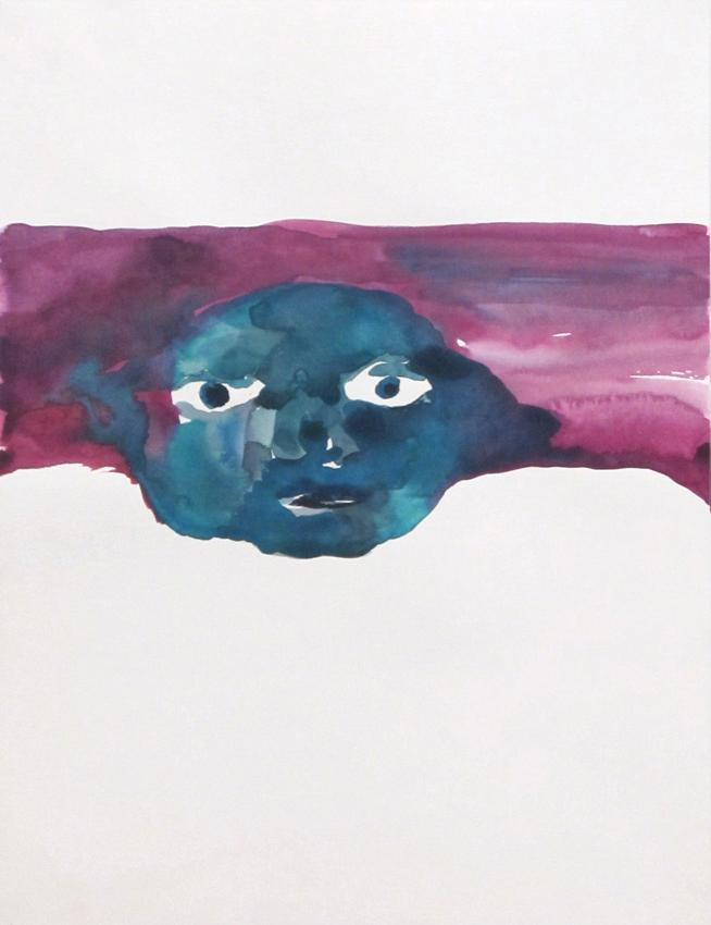 <u>Untitled</u><br />2012<br />watercolor on paper<br />15 3/4 x 11 13/16 inches (40 x 30 cm)<br />