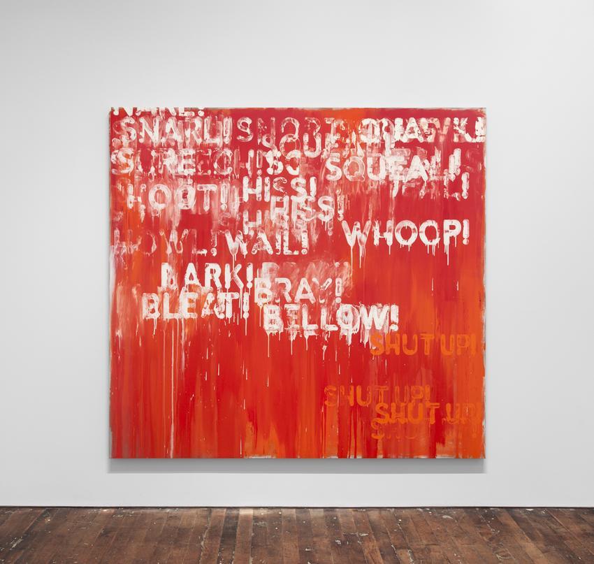 <i>Snarl</i><br />2015<br />oil on canvas<br />82 1/8 x 88 1/4 x 2 inches<br />  (208.6 x 224.2 x 5.1 cm)<br />PF4103<br />