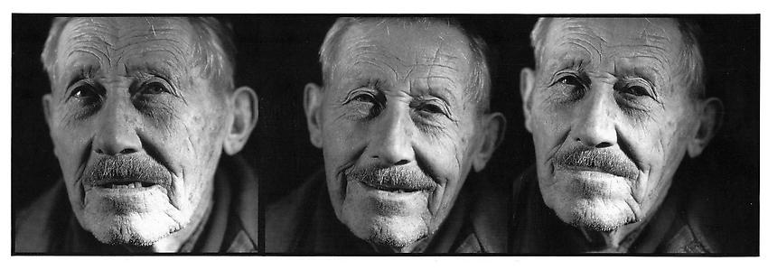 ERIC POITEVIN<br /><i>Sans titre</i><br />1989<br />silver print<br />triptych : 36 7/16 x 35 5/8 inches (92.5 x 90.5 cm)<br />Edition 2/5 1 A.P.<br />