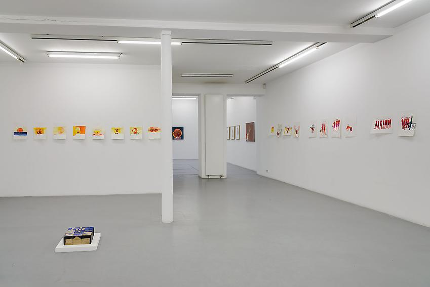 Exhibition view, Peter Freeman, Inc., Paris<br />
