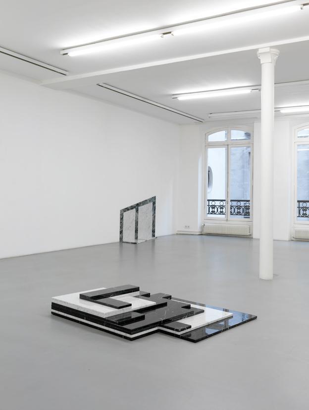 Exhibition view Galerie Nelson-Freeman Paris<br />