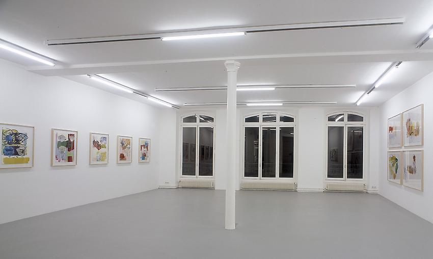 Exbition view Galerie Nelson, Paris<br />