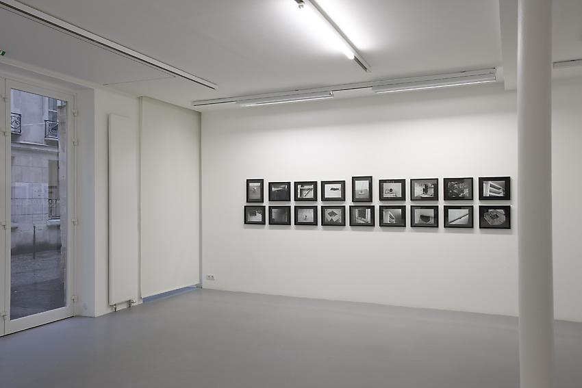 Exhibition view Galerie Nelson, Paris<br />