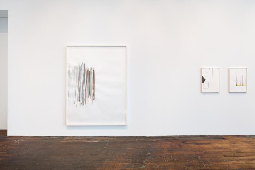 Installation view<br />Peter Freeman, Inc.<br />September 2015<br />