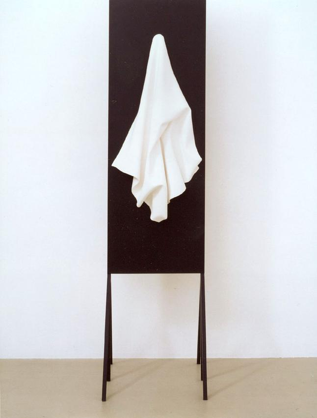 "LILI DUJOURIE<br />""Mille et une nuits"" (A)<br />1993<br />lacquered steel, plaster<br />20 1/2 x 82 11/16 x 27 3/16 inches<br />  (52 x 210 x 69 cm)<br />"