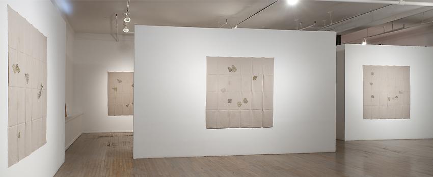 Helen Mirra: Field Notation installation<br />