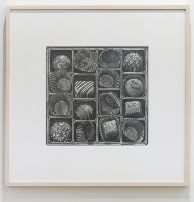 Catherine Murphy<br />Half Full<br />2012<br />graphite on paper <br />drawing: 12 x 12 7/16 inches <br /> (30.5 x 31.6 cm) (sight)<br />