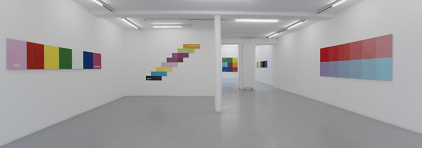 Exhibition view Peter Freeman, Inc. Paris<br />