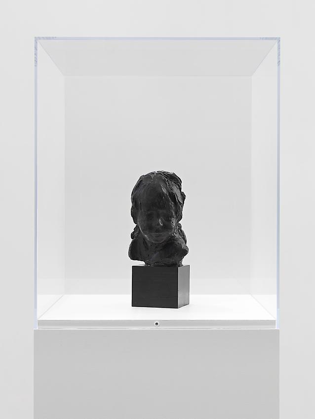 Medardo Rosso<br />Bambino ebreo                                                  <br />c. 1892-1893 / cast c.1896<br />wax over plaster<br />9 1/4 x 7 x 6 1/2 inches<br />
