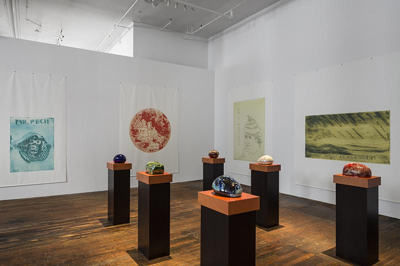 Installation view<br /><i>Thomas Schütte </i><br />Peter Freeman, Inc., NY<br />16 April - 30 May 2015<br />