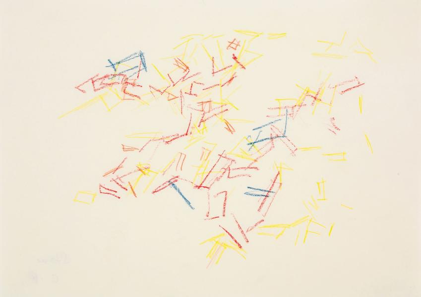 CHARLOTTE POSENENSKE<br /><i>Zeichnung (nach der Natur) [Drawing (after nature)]</i><br />1962<br />pencil on paper<br />8 1/4 x 11 5/8 inches (21 x 29.5 cm)<br />PF3140<br />