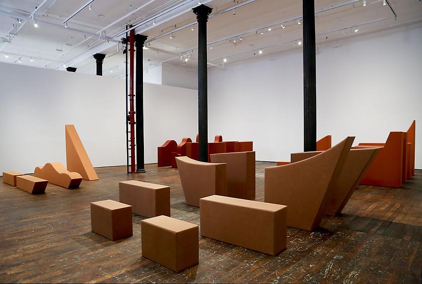 Franz Erhard Walther Installation<br />