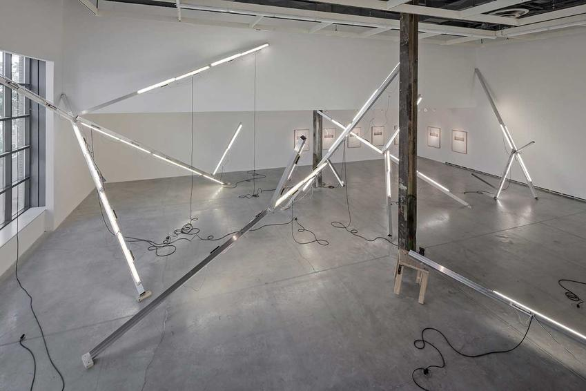 PEDRO CABRITA REIS<br /><I>A Broken Line</I><br />2014<br />Installation view: The Power Plant, Toronto<br />20 September - 4 January 2015<br />