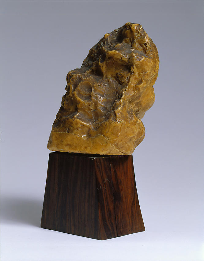 Medardo Rosso<br />Bambino ebreo<br />1892-93<br />wax over plaster on artist's base<br />10 x 5 7/8 x 7 5/8 inches<br />(25.5 x 15 x 19.5 cm)<br />