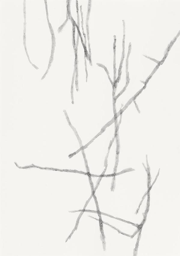 Silvia Bächli<br />Untitled<br />2010<br />gouache on paper<br />17 3/8 x 12 1/4 inches (44 x 31 cm) <br />PF2000<br />