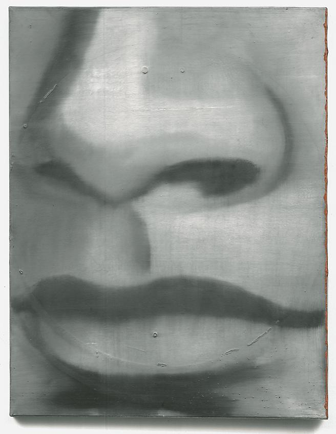 GERHARD RICHTER&lt;br /&gt;Nase [Nose]  (11)&lt;br /&gt;1962&lt;br /&gt;oil on canvas&lt;br /&gt;30 3/4 x 23 5/8 inches&lt;br /&gt;  (78 x 60 cm)&lt;br /&gt;