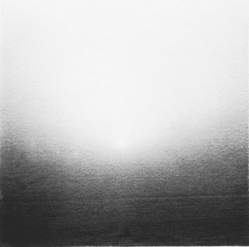 UNKNOWN PHOTOGRAPHER (20th Century)<br />Untitled (Sandstorm)<br />1910<br />gelatin-silver print<br />2 x 2 inches (5.08 x 5.08 cm)<br />