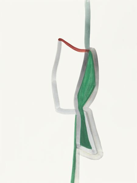 SILVIA BÄCHLI<br /><i>Untitled</i><br />2012<br />gouache on paper<br />31 1/2 x 23 5/8 inches (80 x 60 cm)<br />