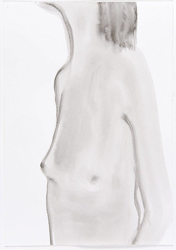 Silvia Bächli<br />Untitled<br />2007<br />gouache on paper<br />10 1/4 x 7 1/8  inches<br />  (26.1 x 18.2 cm)<br />PF1335<br />
