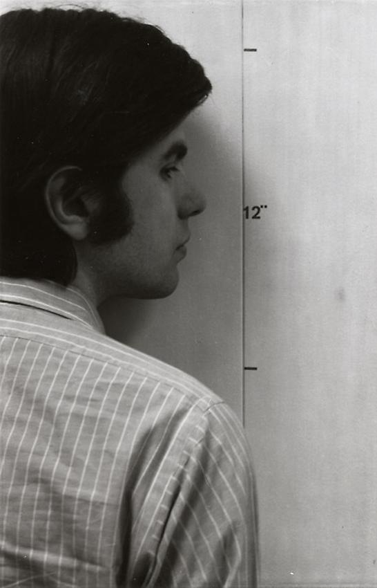 Mel Bochner<br />Actual Size [Face, (dyprich)]<br />1968 (printed 2002) edition 3 of 5<br />gelatin silver print<br />22 x 14 1/4 inches<br />  (55.9 x 36.2 cm)<br />