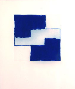 Mary Heilmann<br />Big Bill<br />2001<br />etching with aquatint<br />24 3/4 x 20 inches (63 x 50.7 cm)<br />edition of 40<br />PF1955<br />minimum donation: EUR 1,600.<br />