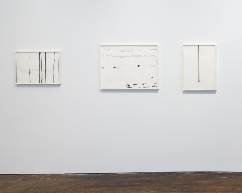 Silvia Bächli<br />Untitled<br />2008<br />gouache on paper<br />60 x 80 cm<br /><br />Untitled<br />2008<br />gouache on paper<br />60 x 80 cm<br /><br />Untitled<br />2009<br />gouache on paper<br />62 x 44 cm<br />PF3717<br />