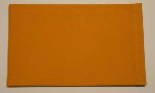 Franz Erhard Walther<br />Untitled<br />1969<br />sewn dyed canvas<br />5 x 7 7/8 inches (12.7 x 20 cm)<br />PF2019<br />unique<br />minimum donation: EUR 4,500.<br />