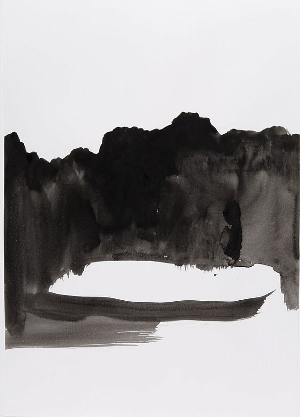 Silvia Bächli<br />Untitled<br />2007<br />gouache on paper<br />16 1/2 x 24 3/8 inches<br />  (44 x 31 cm)<br />PF1339<br />
