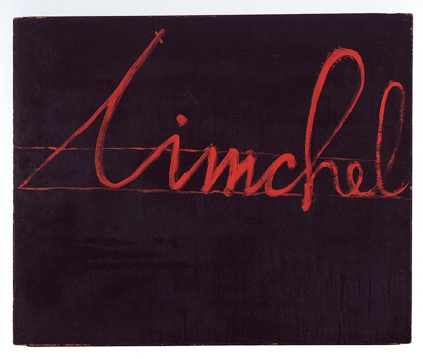 Mangelos<br />Timchel<br />m. 6 (1957-63)<br />tempera on cardboard<br />19 11/16 x 23 5/8 inches <br />(50 x 60 cm)<br />