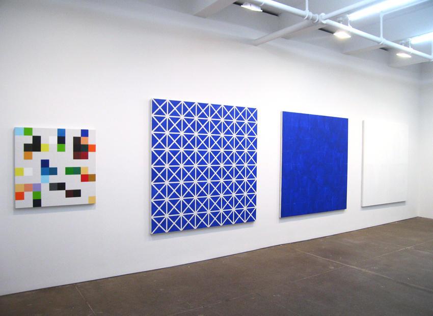 Heimo Zobernig Installation view Friedrich Petzel Gallery 2008